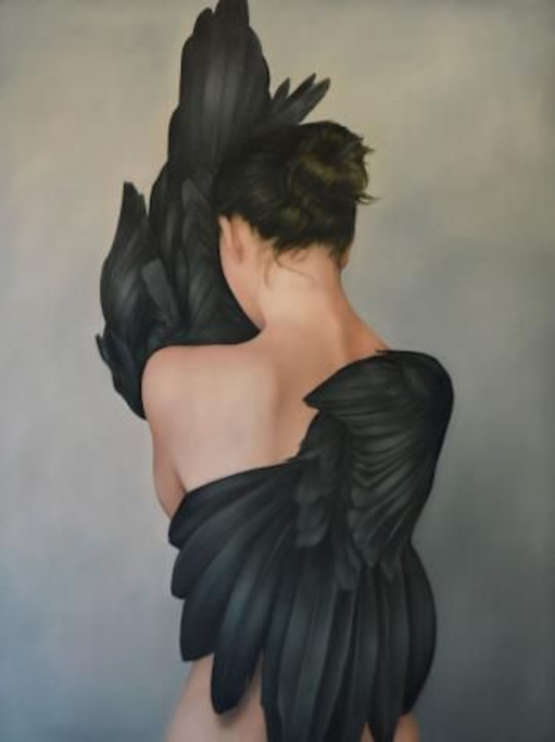 Amy Judd - girl with black wings