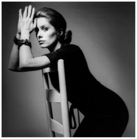 Jeanloup Sieff, Vogue, Catherine Deneuve, Paris, 1969