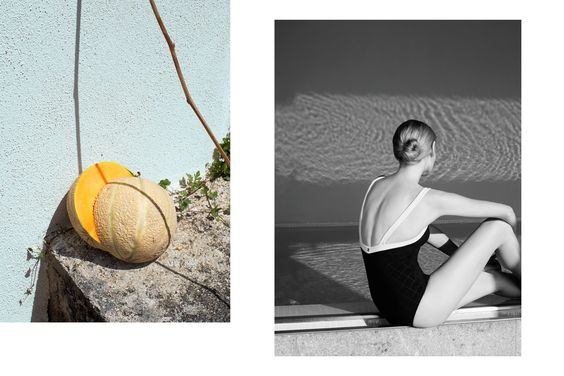 Ester Grass Vergara Photography melon and girl in bathing suit