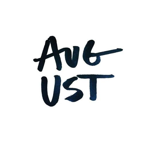 Typography - August