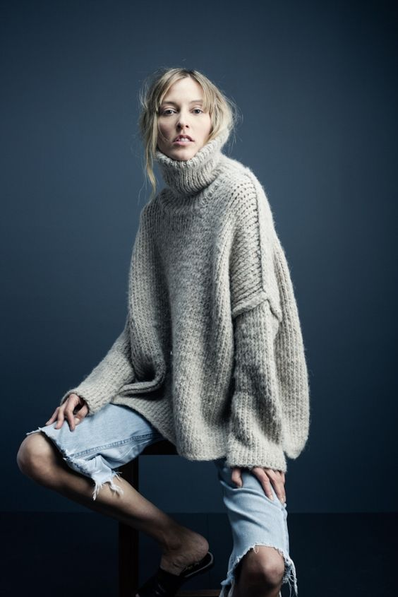oversized turtleneck #2
