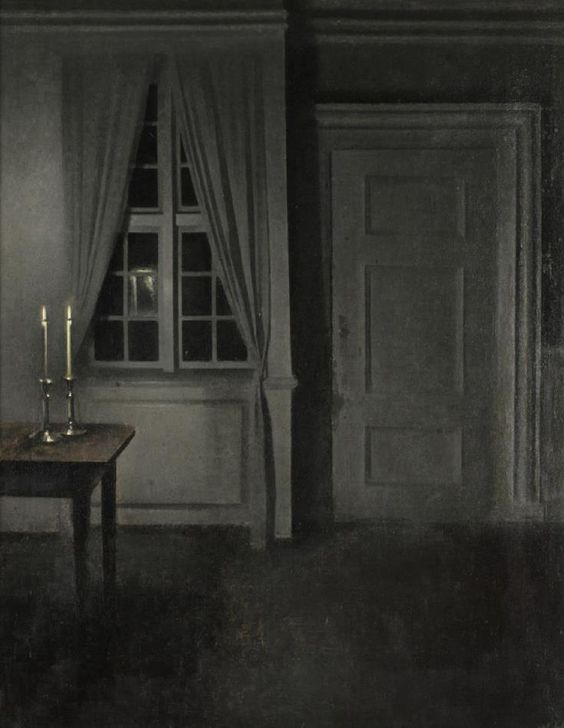 2017-feb-5-vilhelm-hammershoi-interior-with-two-candles-1904